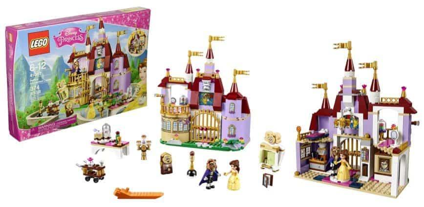 LEGO Disney Princess Belle's Enchanted Castle Building Kit Only $38.73