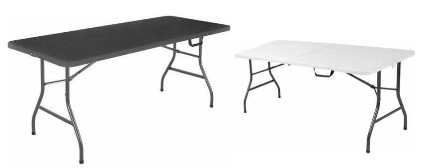 Cosco 6' Centerfold Table $38.88
