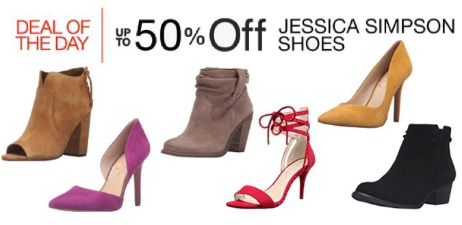 Up to 50% Off Jessica Simpson Shoes **Today Only**