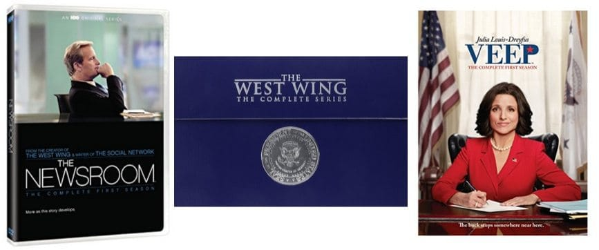 Up to 72% Off Veep, The Newsroom, and The West Wing **Today Only**