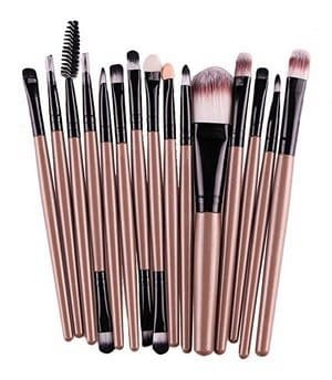 15 Piece Makeup Brushes Set Only $4.59 Shipped