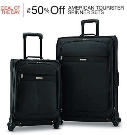 Up to 50% Off American Tourister Spinner Sets **Today Only**