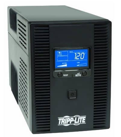 Tripp Lite 1500VA UPS Back Up 10-outlet Uninterruptible Power Supply $119.92  **Today Only**