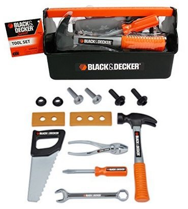 Black & Decker Jr. Tool Box Only $6.89