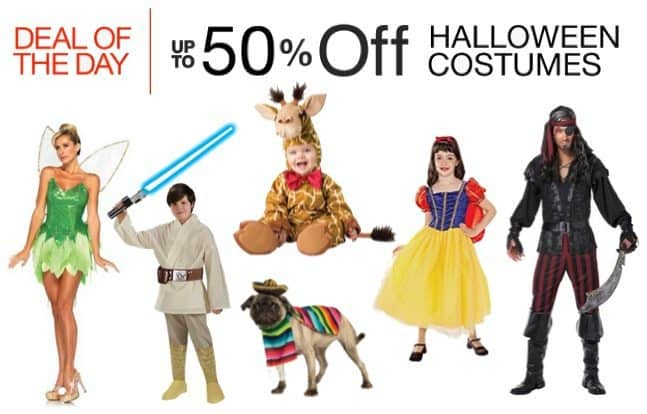 Up to 50% Off Halloween Costumes **Today Only**