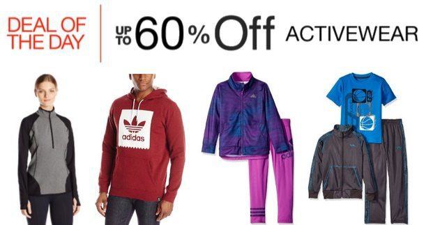 Up to 60% Off Activewear **Today Only**