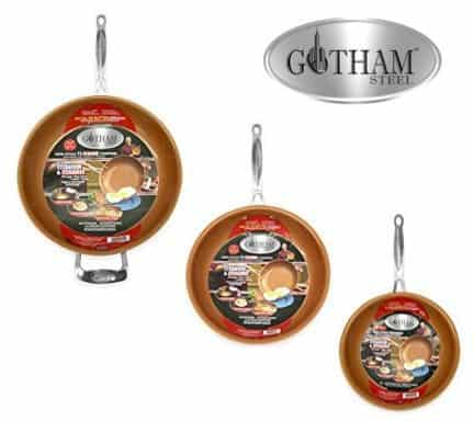 Gotham Steel 3 Piece Pan Set $69.99 **Today Only**