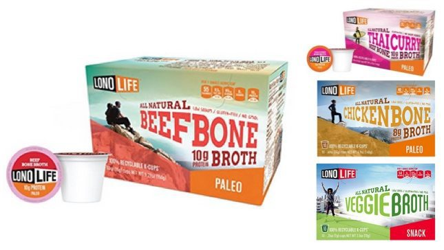 30% or More Off LonoLife Bone Broth K-cup Soup