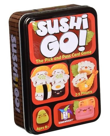 Sushi Go! - The Pick and Pass Card Game Only $8.41