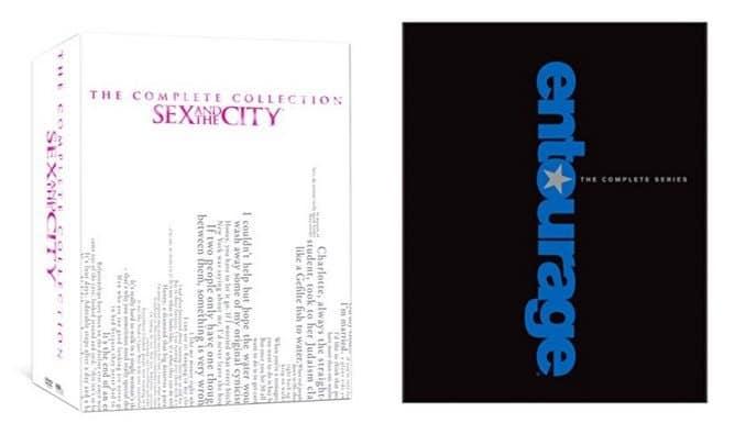 Sex & The City: The Complete Series $43.99 (Was $174.92) & Entourage: The Complete Series $52.99