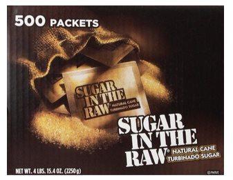 Sugar in the Raw Natural Cane Turbinado Sugar (500 packets) $11.51 **Only 2¢ per packet**