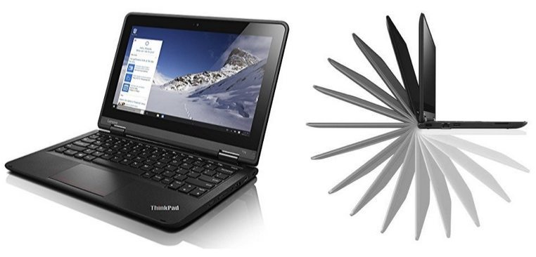 "Lenovo Thinkpad Yoga 11.6"" Touchscreen Convertible Ultrabook $289.99 (Was $600) **Today Only**"