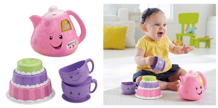 Fisher-Price Laugh & Learn Smart Stages Tea Set Only $11.81