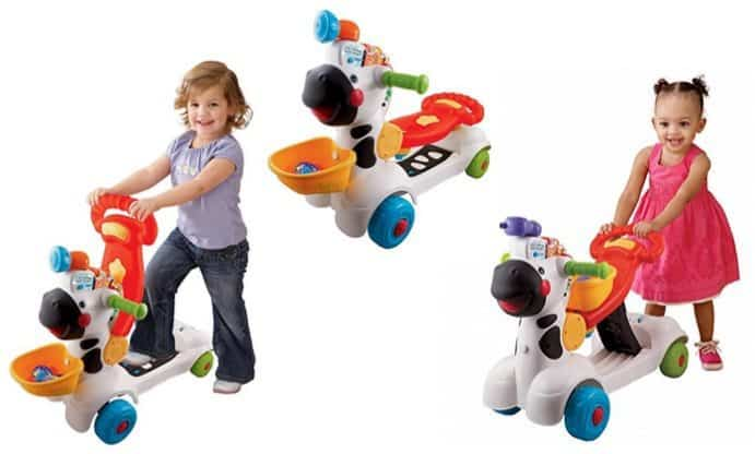 VTech 3-in-1 Learning Zebra Scooter $27.51 (Was $50)