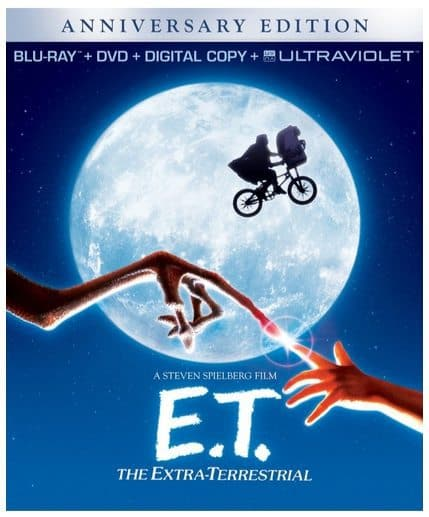 E.T. The Extra-Terrestrial Anniversary Edition Blu-ray Combo Only $6.99