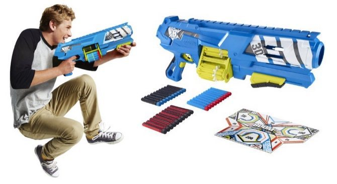 BOOMco. Spinsanity 3X Blaster $10.18 (Was $40)