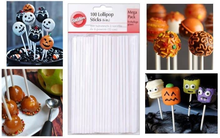 100 Count 6 Inch Lollipop Sticks Only $3.99