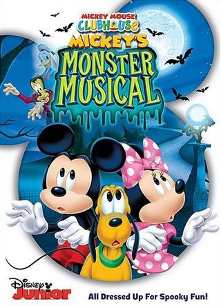 Mickey Mouse Clubhouse: Mickey's Monster Musical DVD Only $9.99
