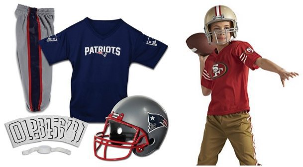 NFL Uniform Sets for Halloween $29.99 **Today Only**