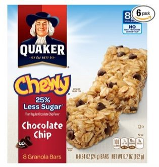 6 Quaker Chewy Granola Bars Boxes Only $9.96 Shipped **$1.66 Per 8-Count Box**