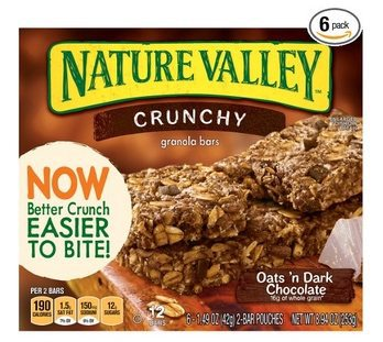 6 Nature Valley Crunchy Granola Bars Only $9.69 Shipped **$1.62 Per 8-Count Box**