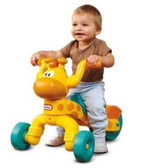 Little Tikes Go and Grow Lil' Rollin' Giraffe Ride-on $19.89 (Was $30)