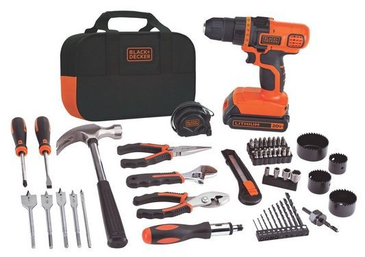 Black & Decker 20-Volt MAX Lithium-Ion Drill and Project Kit $59.99 **Today Only**