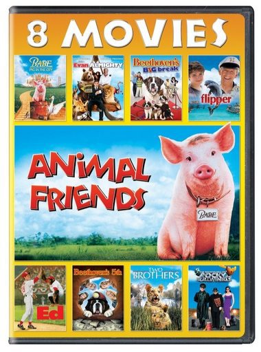 Animal Friends 8-Movie Collection DVD Only $4.99