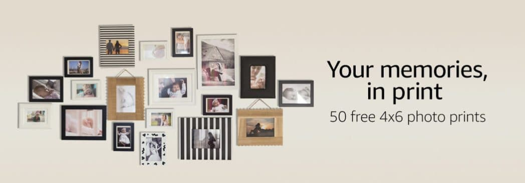 Get 50 4-inch x 6-inch Photo Prints for FREE from Amazon **Last Chance**