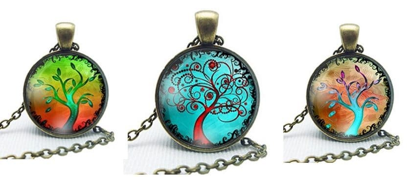 Beautiful Tree Art Necklace Only $2.99 Shipped
