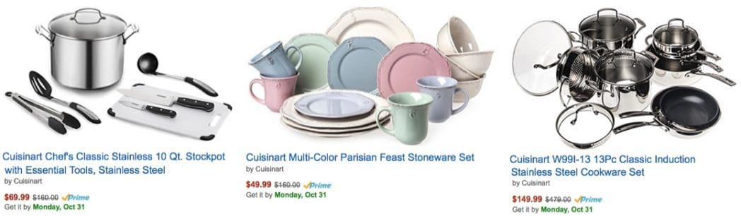 Up to 79% Off Cuisinart & WMF Kitchenware <br>**Today Only**
