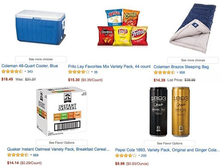 Hot Deals on Tailgating Snacks and Supplies ~ Up to 63% Off **Today Only**