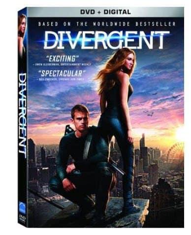Divergent DVD + Digital Copy Only $5.00