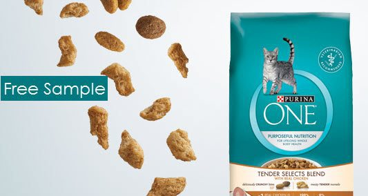 FREE Purina One Tender Selects Cat Food Sample
