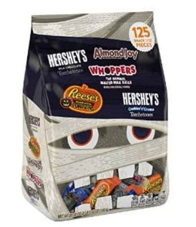 125 Pieces of Hershey's Halloween Assortment Candy $9.74 Shipped