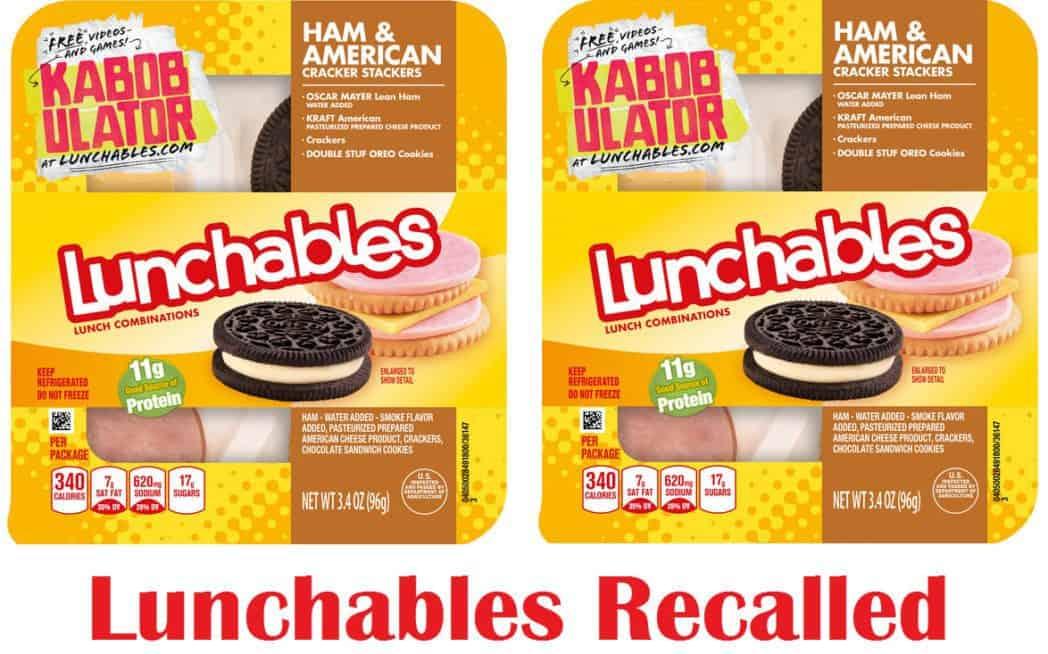 Recall Alert: Lunchables Ham & Cheese Snacks