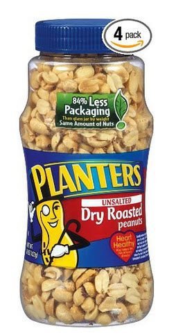 Planters Peanuts $1.60 Per Jar Shipped