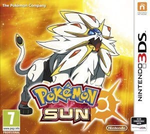 Pokémon Sun or Moon for Nintendo 3DS $29.99