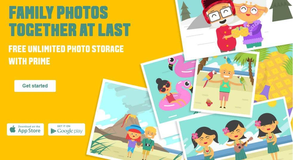 Amazon Now Offers Prime Members Unlimited Photo Storage!