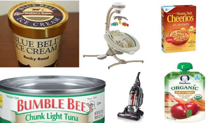 Huge List of Recall Items at Walmart!