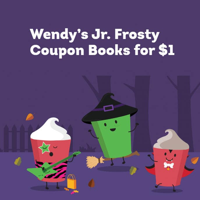 Get 5 Frosty's at Wendy's for Only .00