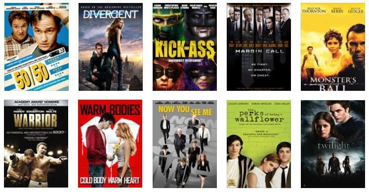 Buy TEN Movies for $9.99 - Only 99¢ Per Movie - Hunger Games, Divergent, Twilight, and More!