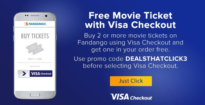 Fandango 2 For 1 Tickets W Visa Checkout Swaggrabber