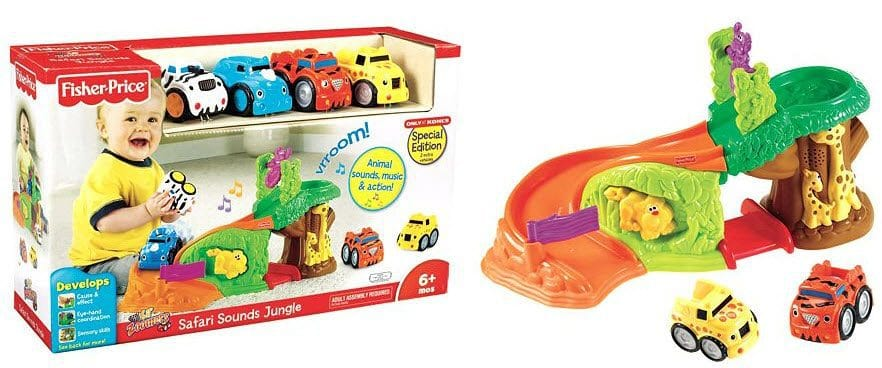 Fisher Price Lil Zoomers Safari Sounds Jungle 15 35 Was