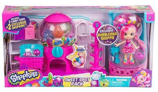 Shopkins Bubbleisha Shoppie Sweet Spot Pack Gumball Playset $25.59 (Was $45)