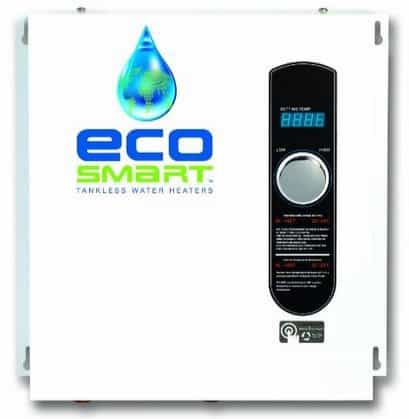 32% Off EcoSmart ECO 27 Electric Tankless Water Heater **Today Only**