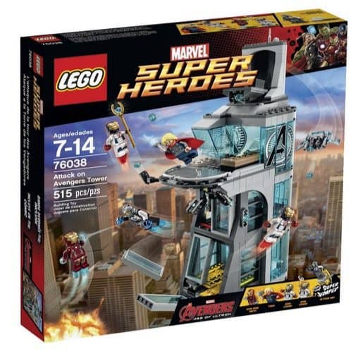 LEGO Super Heroes Attack on Avengers Tower $35.99 (Was $60)