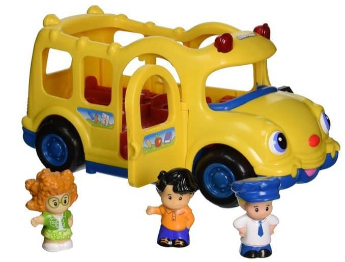 Fisher-Price Little People Lil' Movers Baby School Bus Only $9.84 (Was $20)
