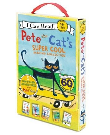 Pete the Cat's Super Cool Reading Collection $9.92 **Only $1.98 Each**