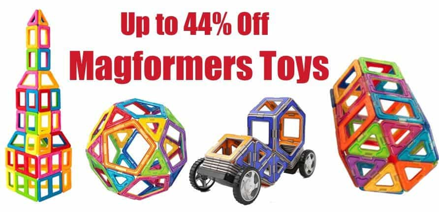 Up to 44% Off Magformers Toys **Today Only**